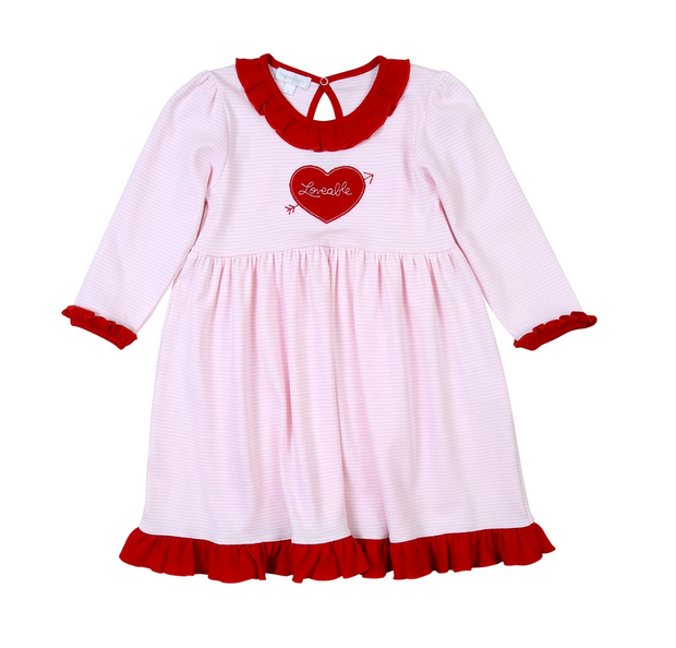 LOVEABLE HEARTS DRESS