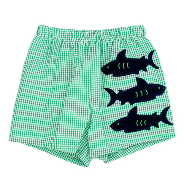 SHARK TRIO SWIM TRUNKS