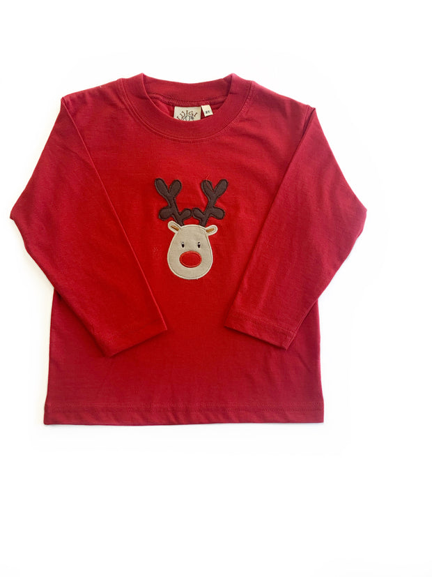 RED RUDOLPH TEE