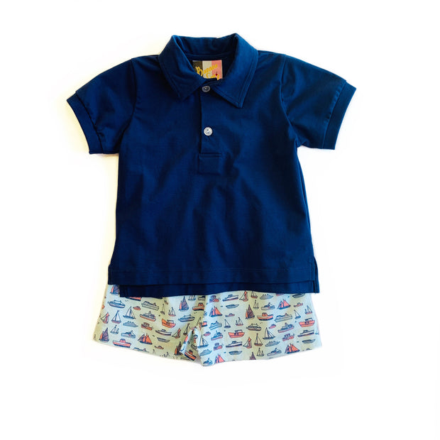 REGATTA SAILBOAT SHORT SET
