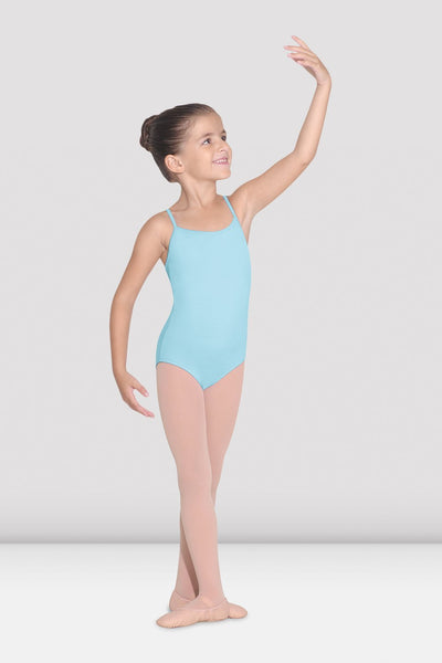 PASTEL BLUE BASIC CAMISOLE LEOTARD