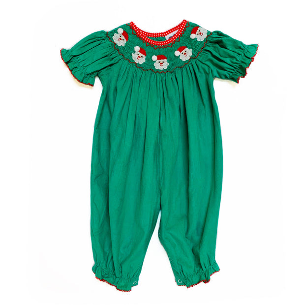 GREEN CORDUROY SANTA BUBBLE