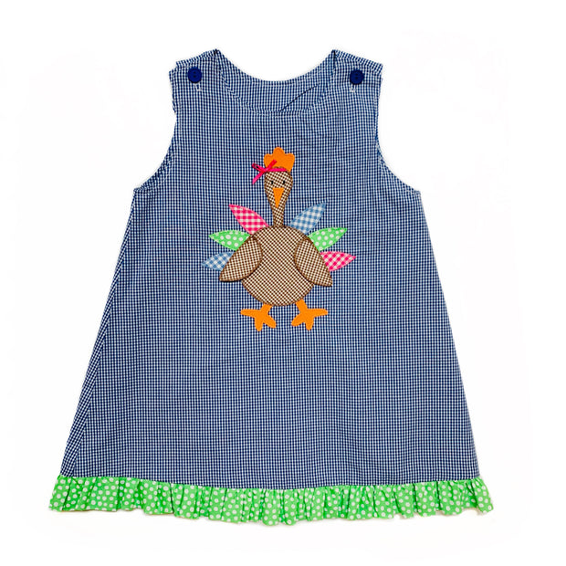 TURKEY/PUMPKIN REVERSIBLE JUMPER