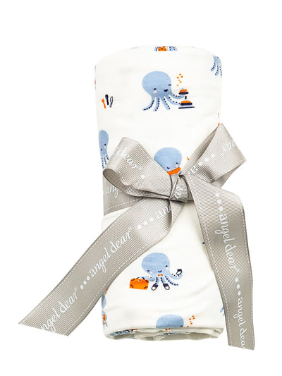 BLUE OCTOPUS SWADDLE