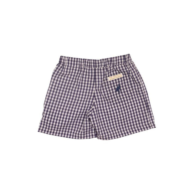SHELTON SHORTS IN NANTUCKET NAVY GINGHAM