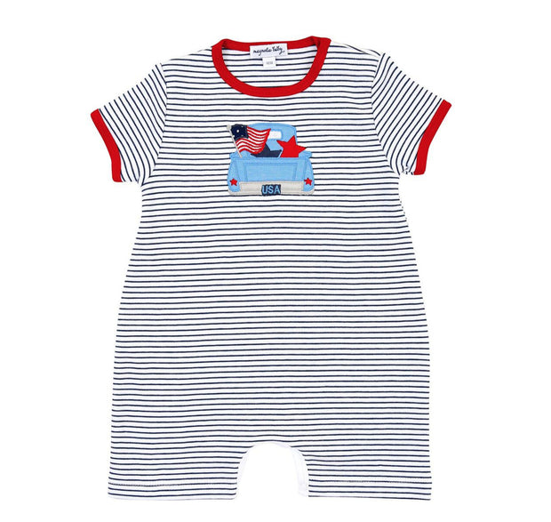 STARS & STRIPES PLAYSUIT