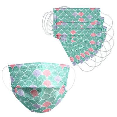 MERMAID KIDS DISPOSABLE FACE MASK