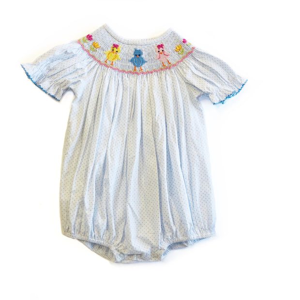 SMOCKED CHICKS BUBBLE