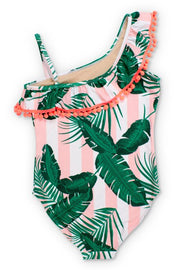 PINK CABANA BOTANICAL ONE PIECE
