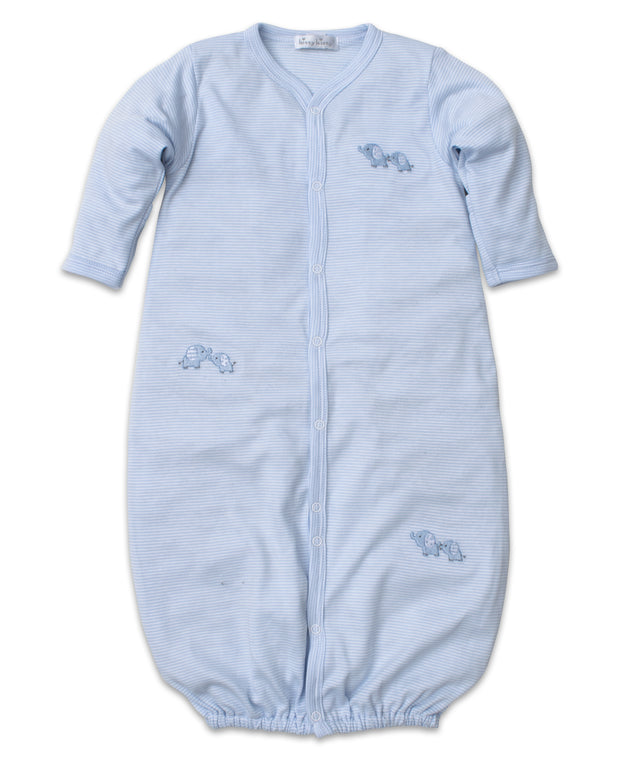 BABY TRUNKS CONVERTIBLE GOWN - BLUE