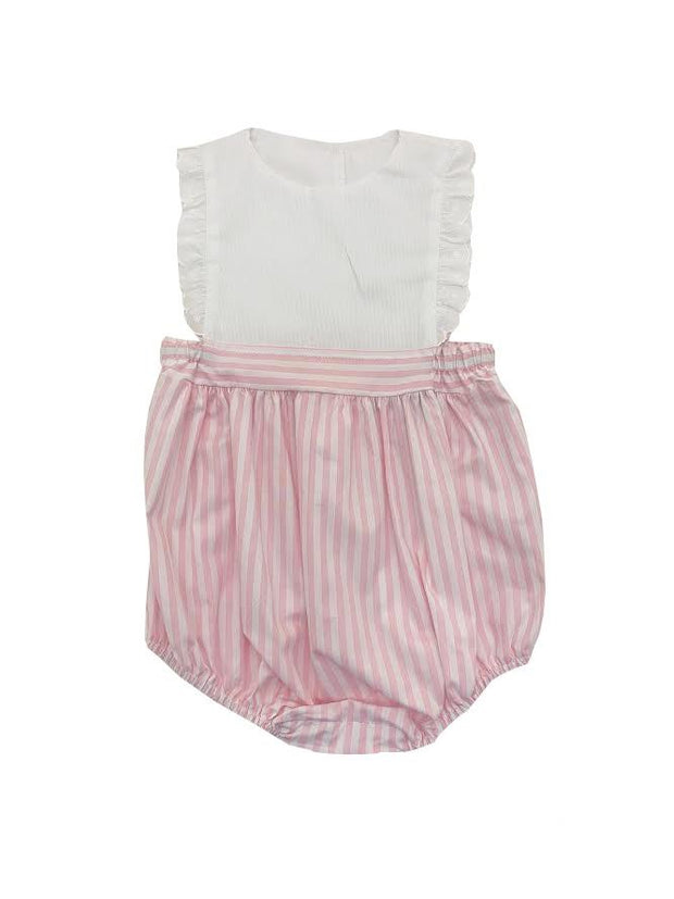 ELIZABETH PINK STRIPE BUBBLE