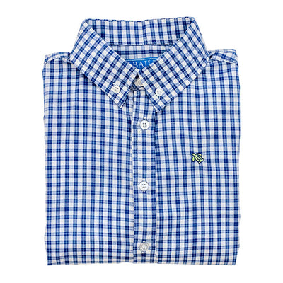 REGATTA WINDOWPANE ROSCOE BUTTON DOWN