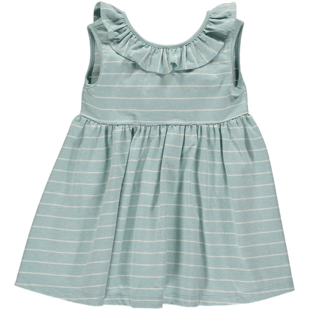 BELLA DRESS IN AQUA