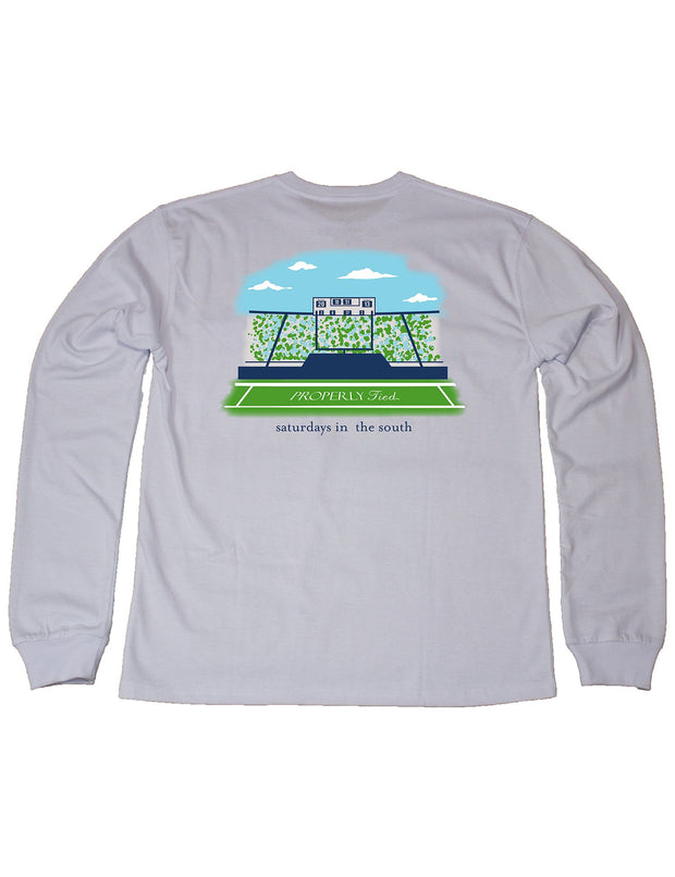 PROPERLY TIED L/S TEE - SATURDAYS IN THE SOUTH
