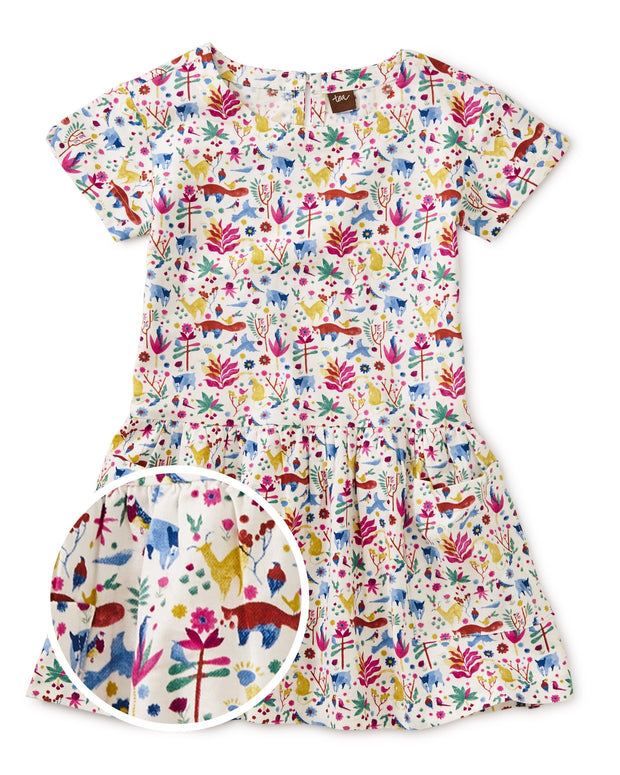 MOUNTIAN MENAGERIE POCKET DRESS