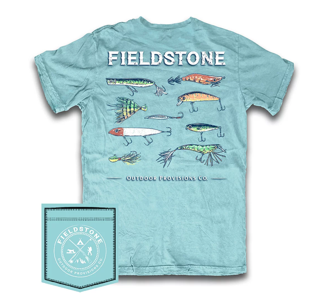 FISHING LURES FIELDSTONE TEE