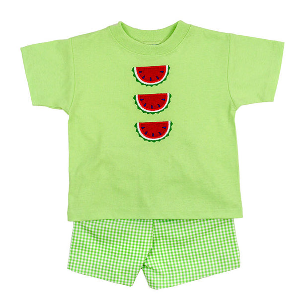WATERMELON SHORT SET