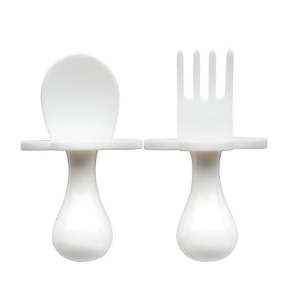 WHITE GRABEASE UTENSIL SET