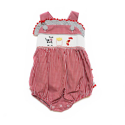 KIDS MEAL SMOCKED BUBBLE
