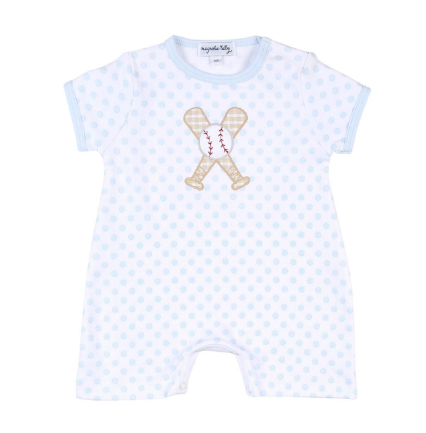 BLUE DOT GRAND SLAM PLAYSUIT