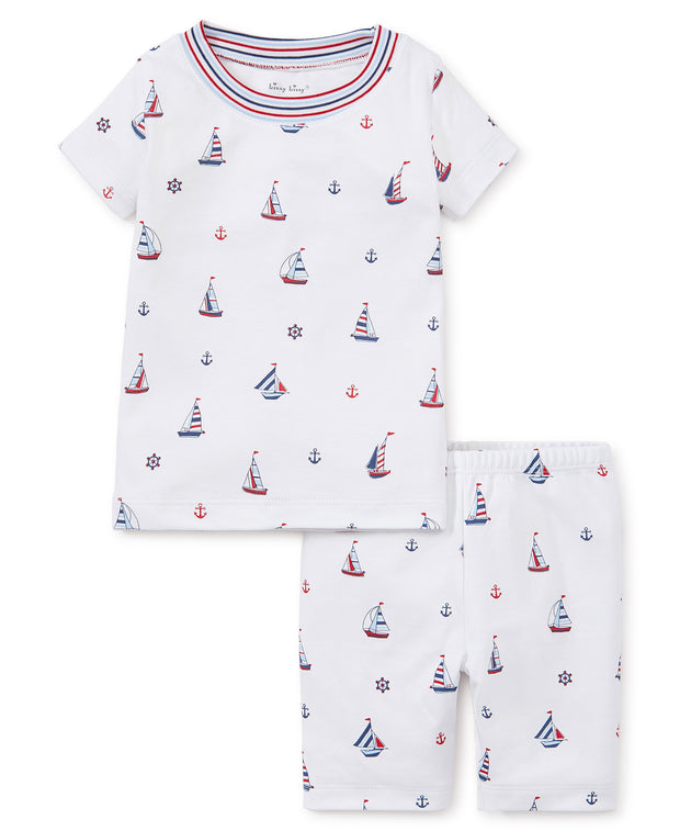 SAILS PAJAMA SHORT SET