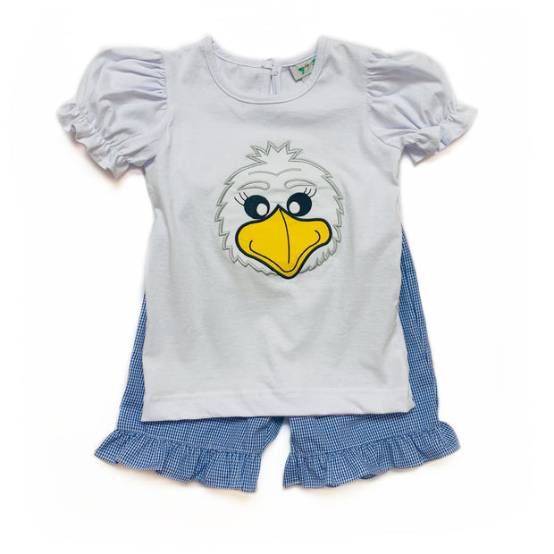 GIRLS EAGLE SHORT SET