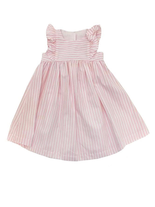 TRISH PINK STRIPE DRESS