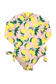LEMON RASH GUARD ONE PIECE