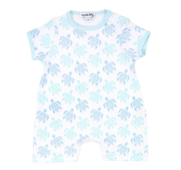 BLUE SEA TURTLES PLAYSUIT