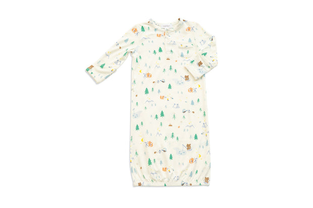 LITTLE CAMPERS HENLEY GOWN