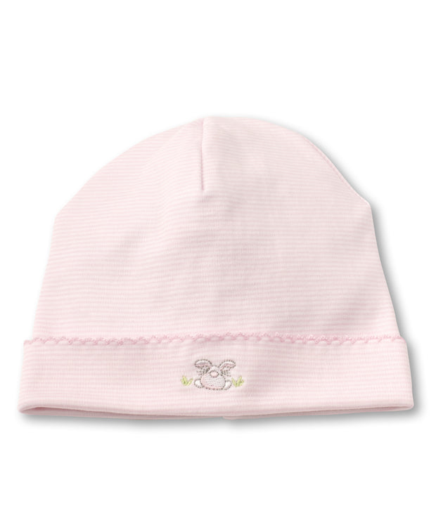 BUNNY BUZZ BABY HAT IN PINK