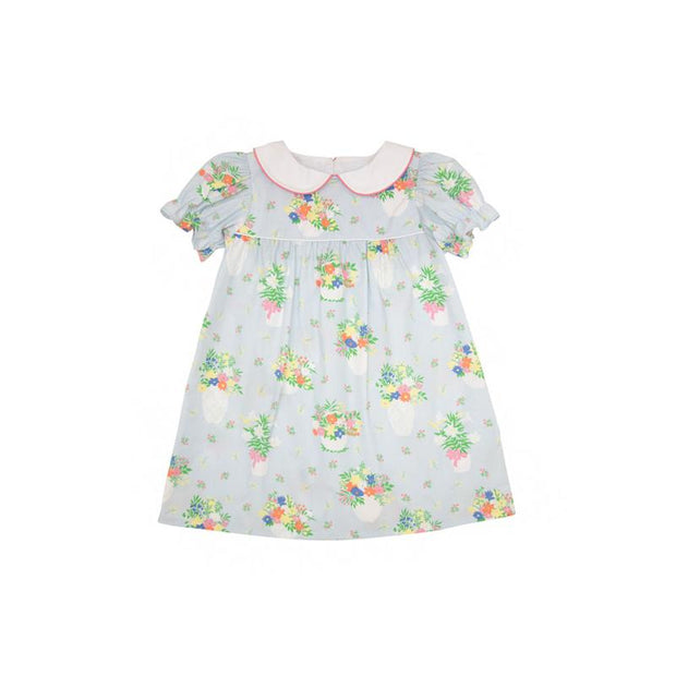 HOLLY DAY DRESS IN UPLIFTING LILLIES