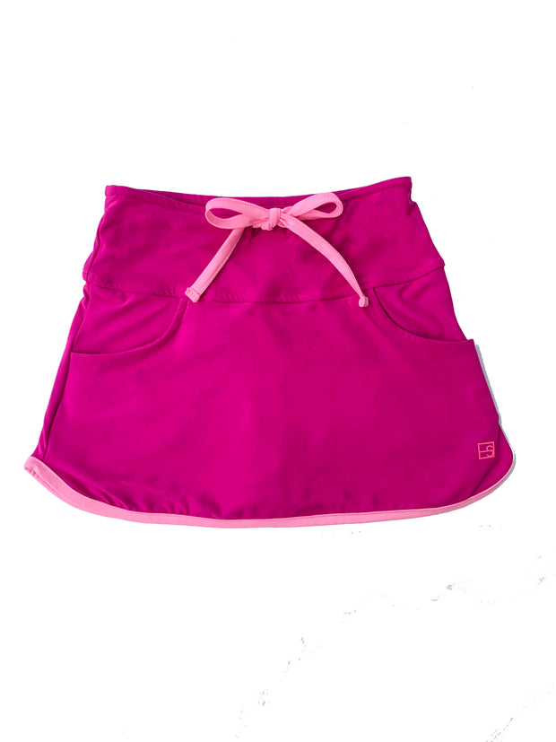 TIFFANY TENNIS SKORT IN FUSCIA