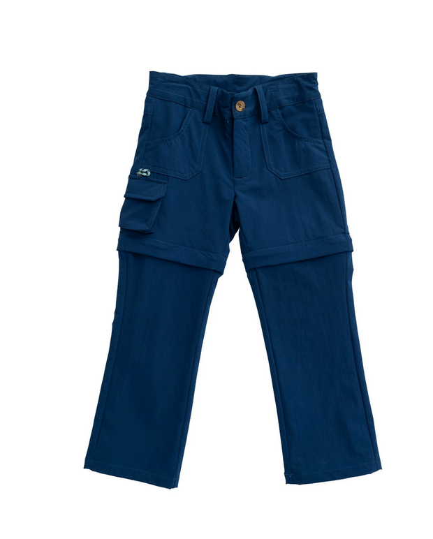 ZIP OFF PERFORMANCE PANT BLUEBERRY
