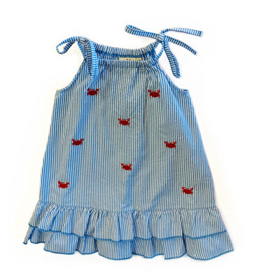 CHAMBRAY CRAB DRESS
