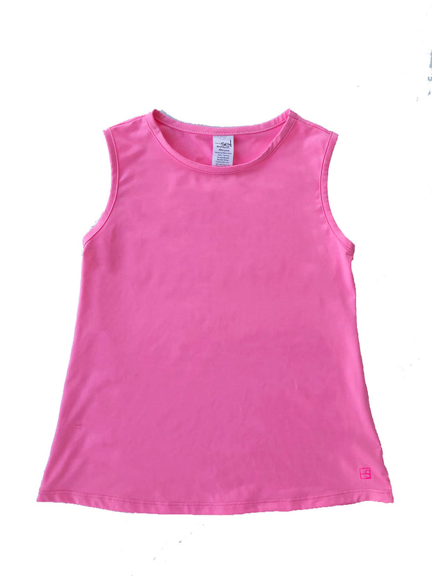 TORI TANK TOP IN HOT PINK