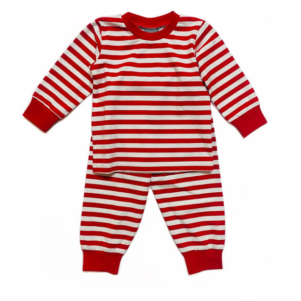 RED STRIPE PAJAMAS