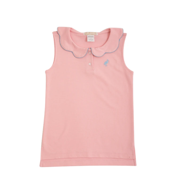 PAIGE'S POLO IN SANDPEARL PINK