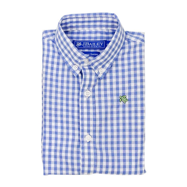 Roscoe Shirt, MED BLUE CHECK