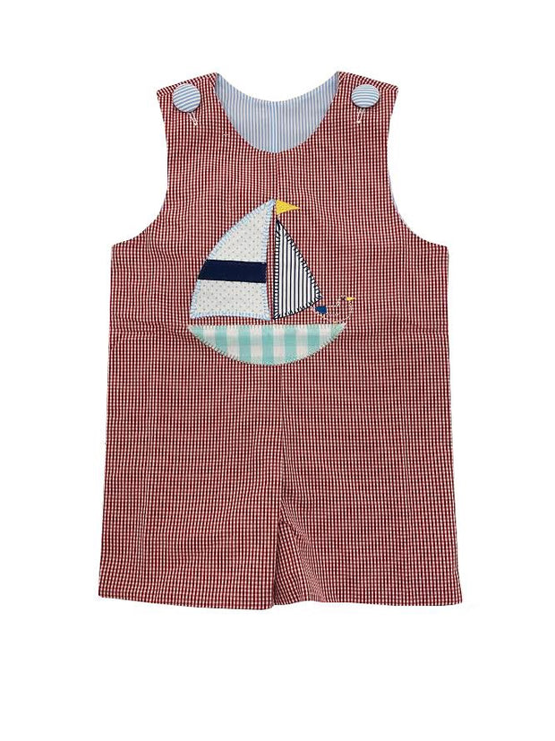 SAILBOAT/FISHING REVERSIBLE JOHN JOHN