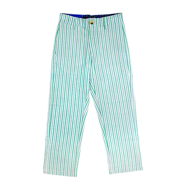 SEERSUCKER CHAMP PANT IN OCEAN