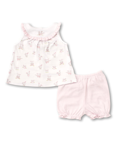 BUNNY BUZZ PINK SUNSUIT