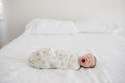 CHIP SWADDLE BLANKET