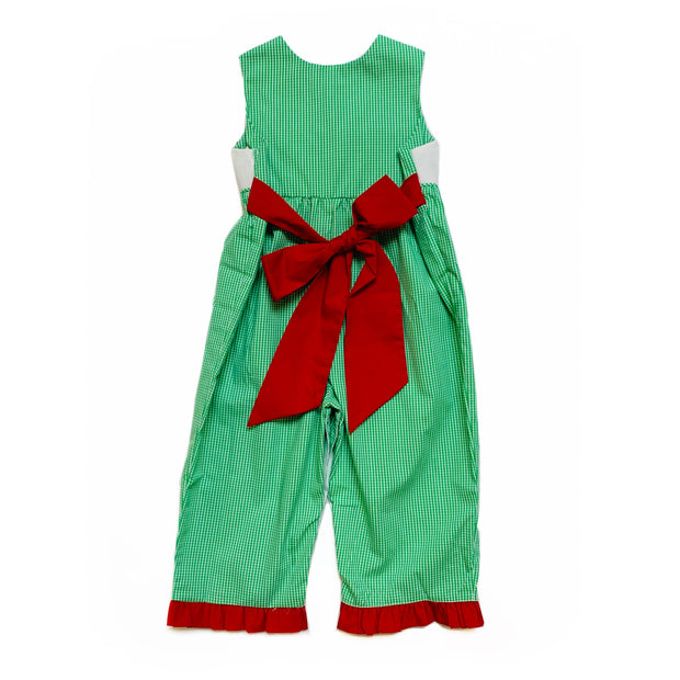 GINGERBREAD GIRL LONG ROMPER
