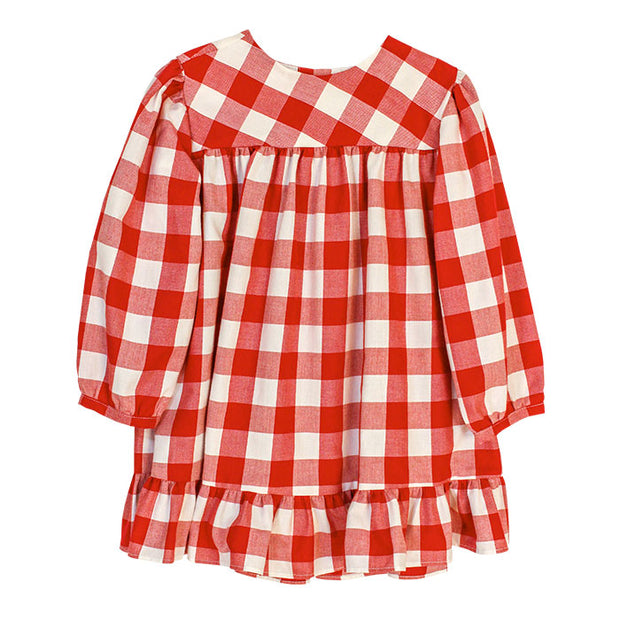 BUFFALO CHECK TOP - RED