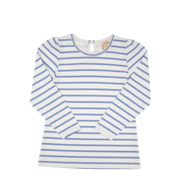 PENNY PERIWINKLE STRIPE PLAY SHIRT