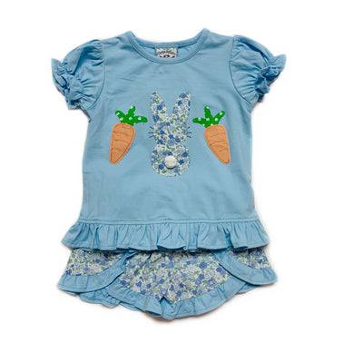 COTTON TAIL GIRLS SHORT SET