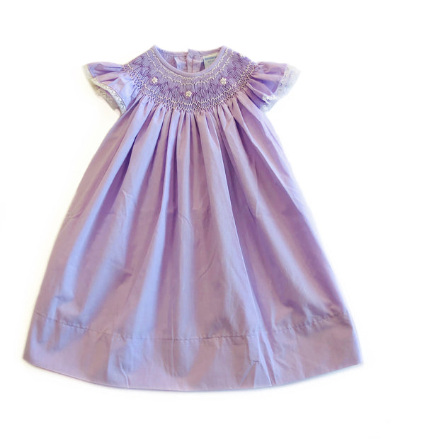 EMME LILAC BISHOP DRESS