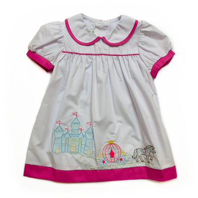 WHITE SHADOW CASTLE DRESS