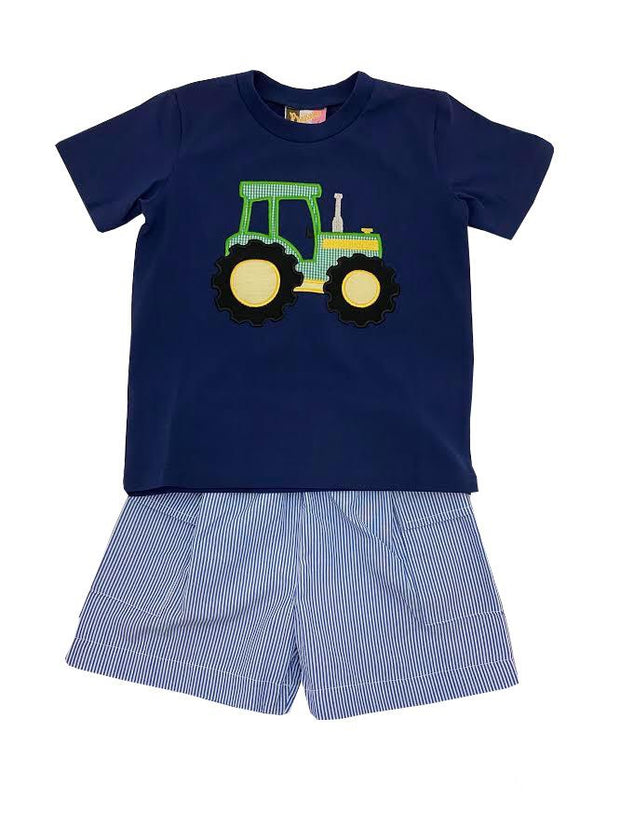 BIG GREEN TRACTOR SHORT SET